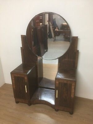 Art Deco Rosewood Dressing Table