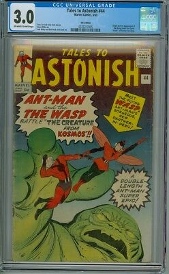 Tales To Astonish #44 - CGC Graded 3.0 - 1st Appearance of The Wasp