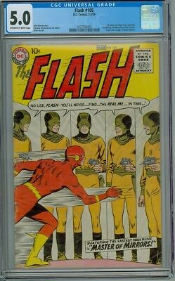 Flash #105 - CGC Graded 5.0