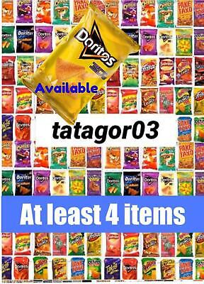 Mexican Sabritas, Barcel, Make Your Own Box At Least 4 Item Exp Date Sep-Oct