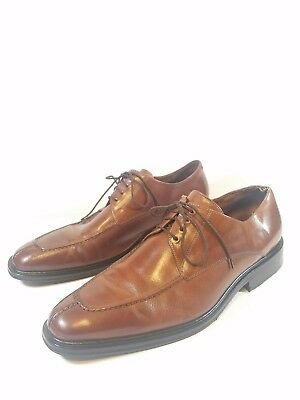 Cole Haan N-Air Mens Oxford Dress Shoes Size 12 M Brown Leather Casual Lace