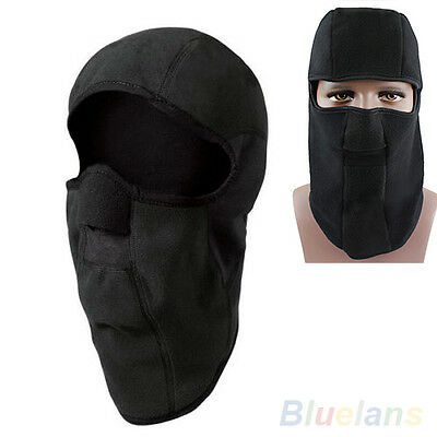 FT- Motorcycle Thermal Fleece Balaclava Neck Winter Ski Full Face Mask Cap Cover