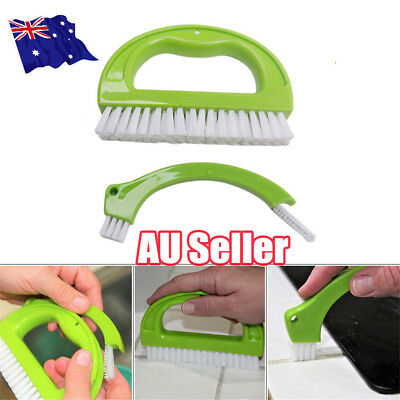 Grout Brush Tile Grout Cleaner Cleaning Tool for Bathroom Kitchen Shower Tubs EA