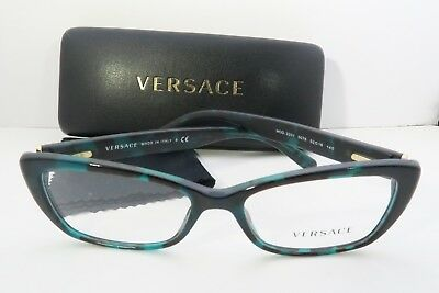 Versace Women's Green Glasses with case MOD 3201 5076 52mm
