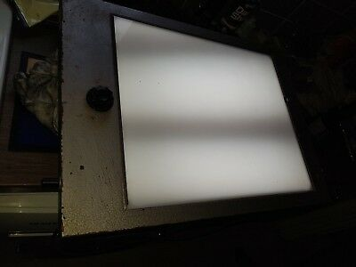 Vintage NHS Hospital X-Ray Viewer Light Box Working