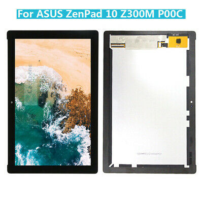 For Asus ZenPad 10 Z300M P00C Digitizer Touch Screen Black LCD Display Assembly