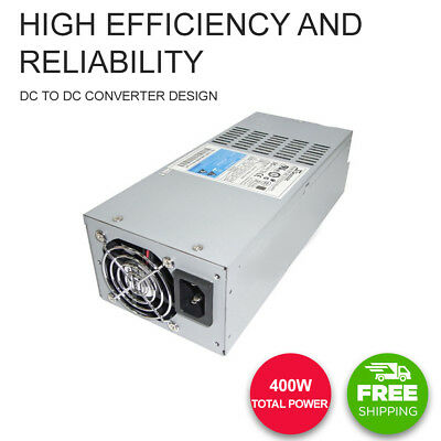Seasonic SS-400L 2U Active PFC High Efficiency Reliability Low Ripple and Noise