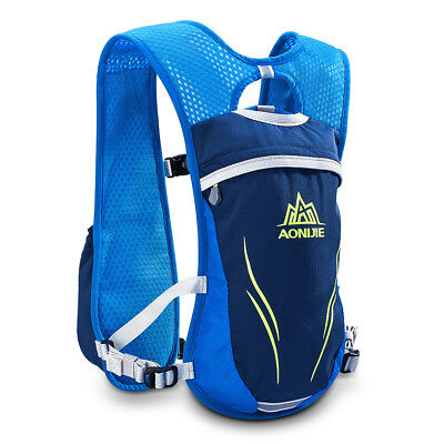 2L Outdoors Trail Marathoner Running Race Vest Hydration Pack Backpack Blue