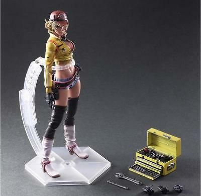 Play Arts Kai Final Fantasy XV FF15 Cindy Aurum Mechaniker Action Figur Figuren