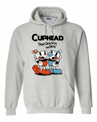 Cup Head Image Hoody Gift Childrens And Adult Sizes Video Game Fun