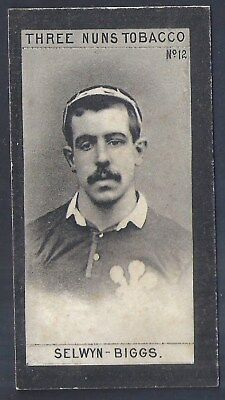 Bell-Football Ers 1902-#12- Rugby - Selwyn Biggs