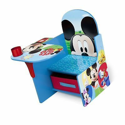 Kids Chair Desk Disney Mickey Mouse Play Table Seat Storage Toddler Furniture  sc 1 st  PicClick & KIDS CHAIR DESK Disney Mickey Mouse Play Table Seat Storage Toddler ...