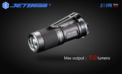 Cyber Monday Deal JETBeam JET-II MK CREE XP-G2 LED 510 Lumen Flashlight 1x CR123