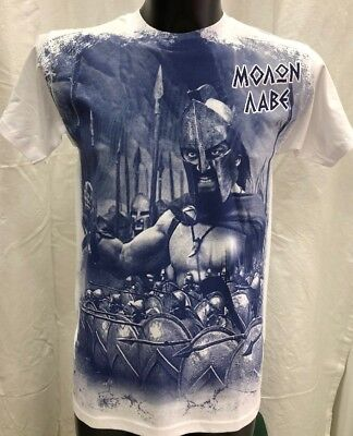 Greek T-Shirt The 300 This Is Sparta Spartan Warrior From Greece