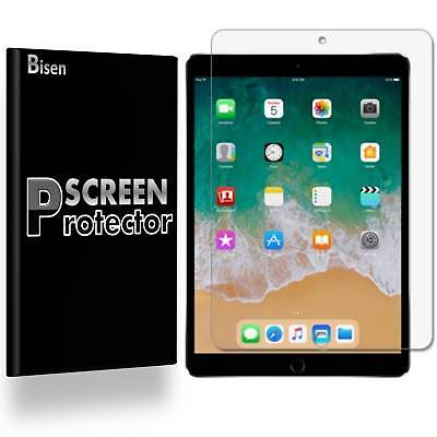 iPad 9.7 (2018) 6th Gen [3-PACK BISEN] Clear Screen Protector Guard Shield Saver