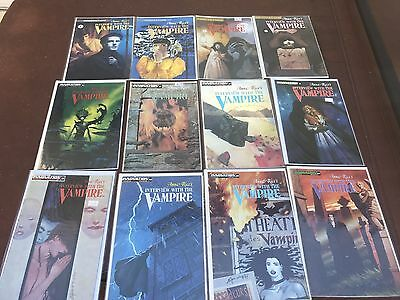 INTERVIEW WITH THE VAMPIRE Complete Comics Set Lot 1 2 3 4 5 6 7 8 9 10 11 12
