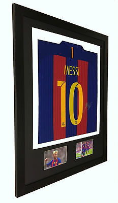 frame for signed shirt football rugby sports Sq shirt display aa Bot/Win diy kit