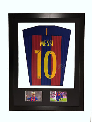 frame for signed shirt football rugby sports V display aa Bot/Win