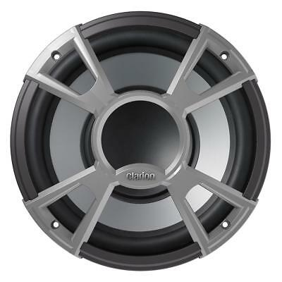 "Clarion CMQ2512W 10"" 4-OHM High Performance Water Resistant Subwoofer 400W"