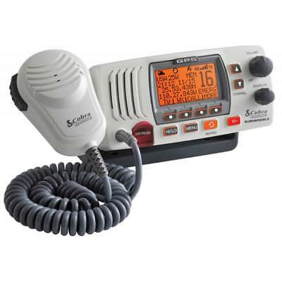 Cobra Electronics Cobra MR F77W Fixed Mount Class D VHF Radio - 25W - White