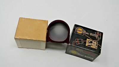 Craftsman Guild Vintage Mini-Master Viewer-Hollywood CA- With Original Box- Red