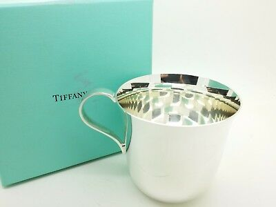 Tiffany & Co  Sterling Silver Baby Cup 925 Makers 23498 NO Mono