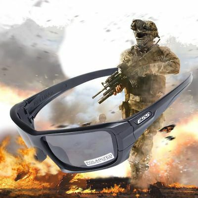 38db3d6f25 ESS ROLLBAR Crowbar Polarized Tactical Sunglasses Military Glasses TR90  Cross.