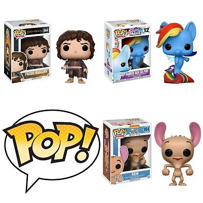 Funko Pop! Vinyl Bobble Head Television or Movies Many Different To Choose From