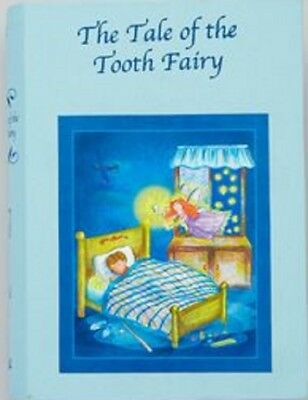 BLUE The Tale of The Tooth Fairy Keepsake Record Book Tooth Keeper (NEW) FREE SH