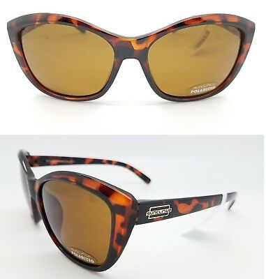 cd0fe33dd38 NEW Suncloud sunglasses Skyline Tortoise Brown Polarized Cat eye small  medium
