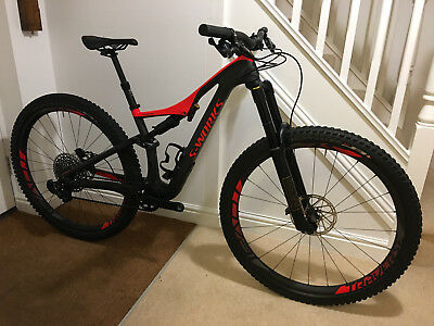 a0f2e9d73c1 Specialized 2017 S-Works Stumpjumper FSR 29 mountain bike, size small