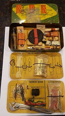 Vintage SOS First Aid and Sevice Kit