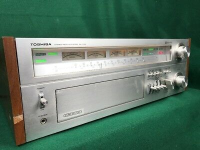 Toshiba Sa-7100 Vintage Stereo Receiver Serviced Monster * Nice!