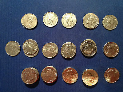 Australian 5 Cent - Buy It Now for 1 Coin - Complete Fill Your Set