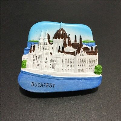 3D Resin Fridge Magnet Tourist Travel Souvenir Memorabilia - Budapest Hungary