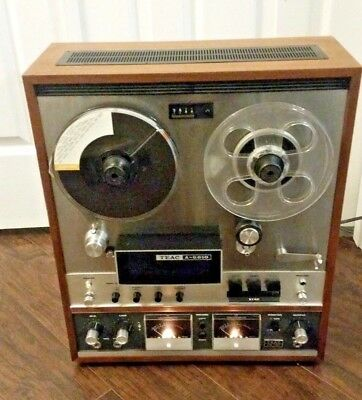 Vintage TEAC A-6010 Reel-To-Reel, Powers on, Untested