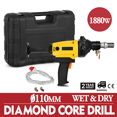 Vevor RT-110A Diamond Core Drill Rotary Percussion 240V 110mm & Carry Case