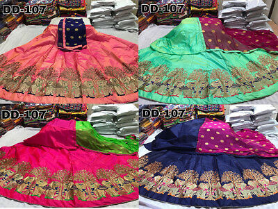 Wedding Lehegha Choli Pakistani Ethnic Elephant Designer Lehegha Suit Indian ELE