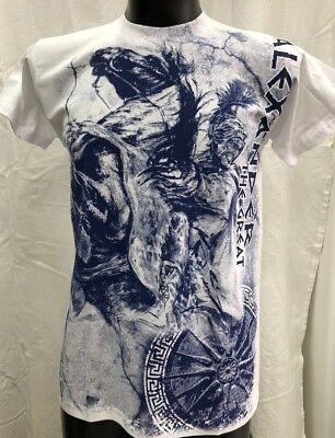 Greek T-Shirt Alexander The Great Macedonia King From Greece Allover