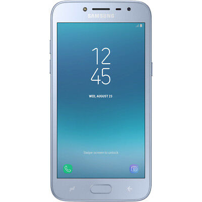Samsung Galaxy J250F-DS Grand Prime Pro Silver Blue 16GB Unlocked Mobile Phone