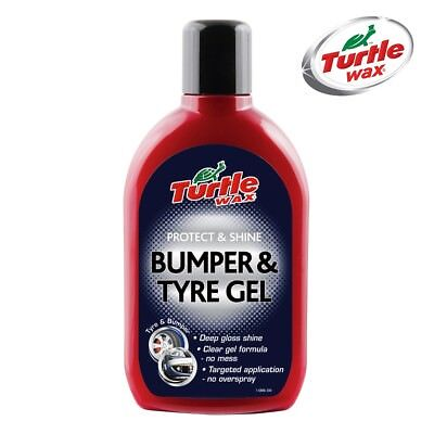 TURTLE WAX Car Plastic Bumper and Trim Restorer Protector - Tyre and Bumper Gel