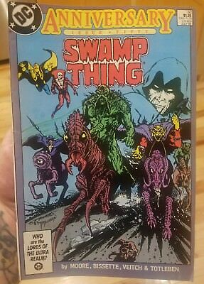 Swamp Thing #50 Anniversary Issue 1st Justice League Dark Alan Moore