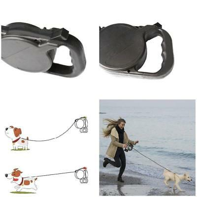 8M Dog Collar Leash Automatic Retractable Patrol Rope Walking Leads Traction