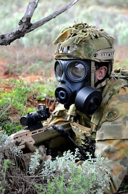Australian Special Forces S10 SF10 gas mask kit used