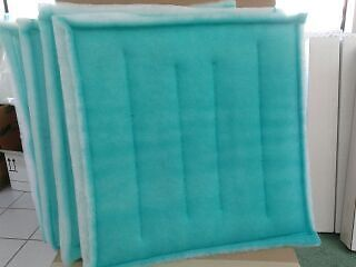 """20"""" x 20"""" Series 55 Tacky Intake Filter Spray Paint Booth - Case 20 *FreeShip"""