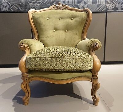 Beautiful Antique Chippendale Armchair