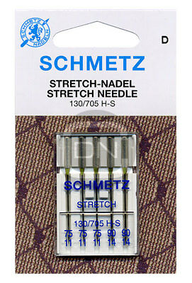 Schmetz Stretch Nadel Sortiment Stärke 75 90 5er Pack