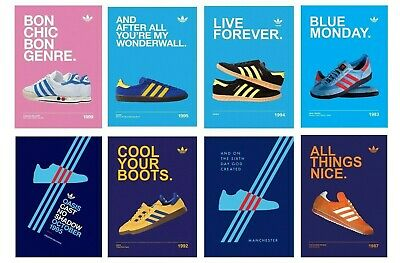Adidas Casuals Trainers Liam Noel Gallagher OASIS Posters Print BUY 1 GET 2 FREE