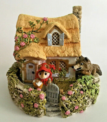 Wee Forest Folk WFF M-172 Red Riding Hood at Grandmother's House *Signed* EUC!