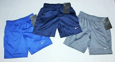NIKE Toddler Shorts 3T or 4T Blue Gray Black Red you pick NEW w tags